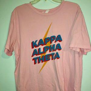 Kappa Alpha Theta sorority tee
